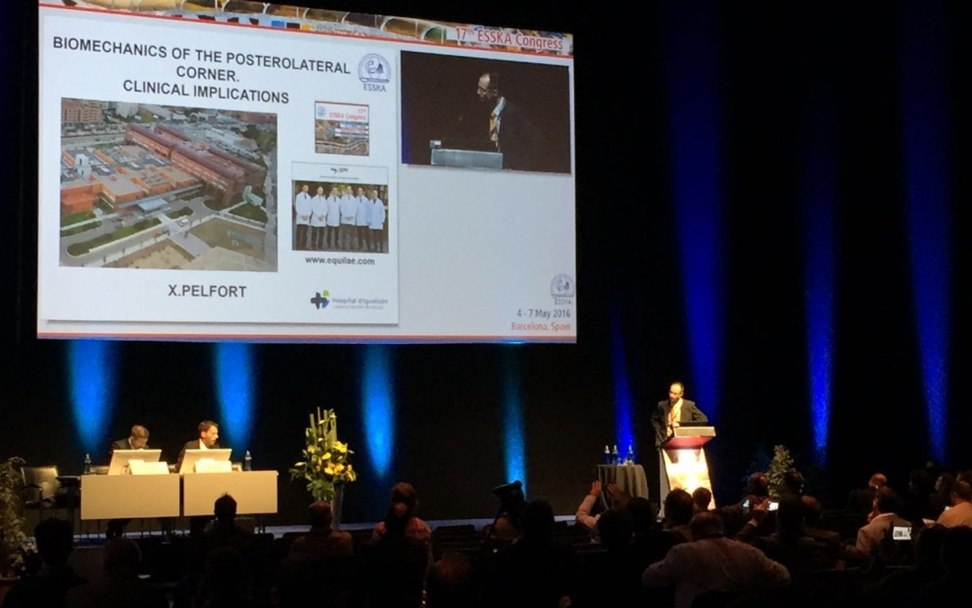 Participació al 17th Congrés de la ESSKA (European Society of Knee Surgery, Sports Traumatology & Arthroscopy)
