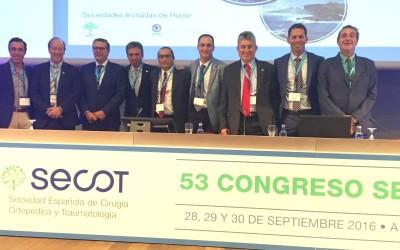 Participació en el 53è Congrés de la SECOT (Societat Espanyola de Cirurgia Ortopèdica i Traumatologia)